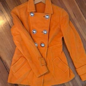 Carlisle Orange Peacoat